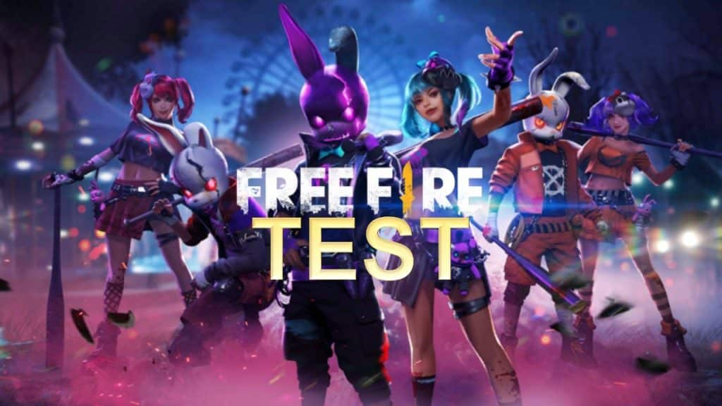 Test Free Fire