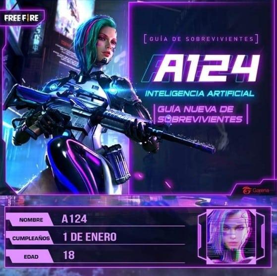 a124 free fire