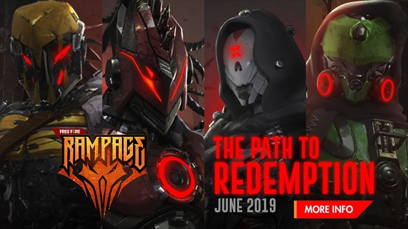 free fire path to redemtion