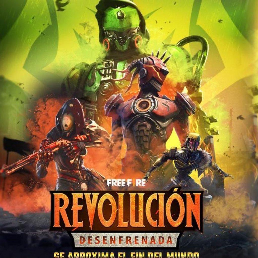 free fire revolucion desenfrenada