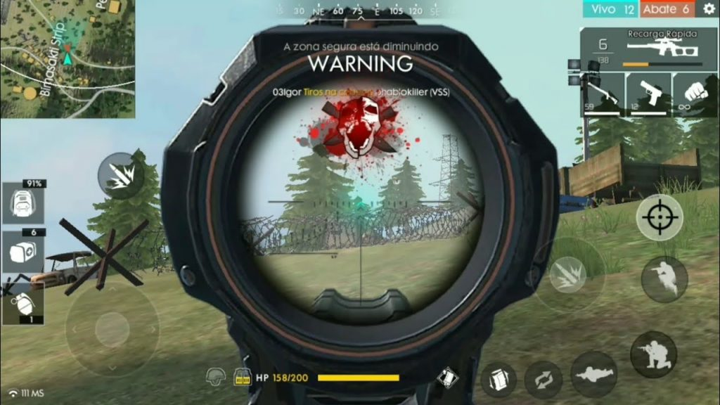 headshot free fire