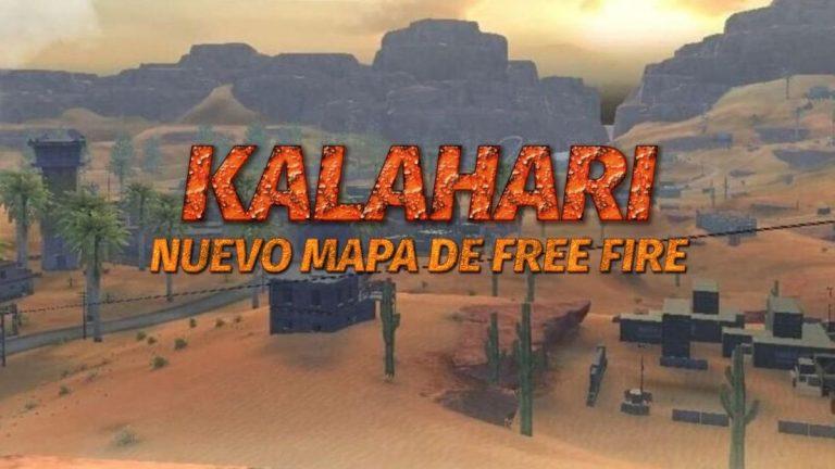 mapa kalahari de free fire