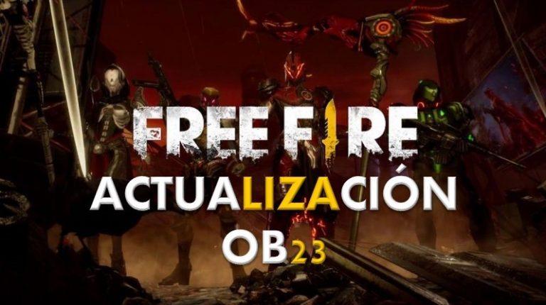 Actualización OB23 Free Fire
