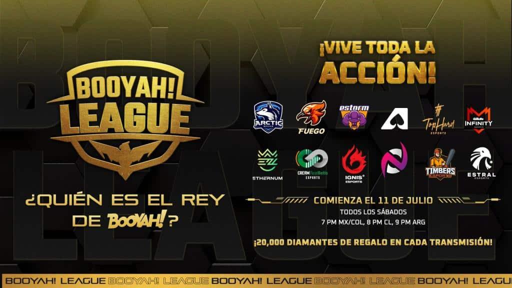 Participantes de Booyah! League
