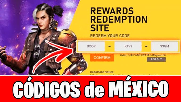 Códigos de Free Fire para México