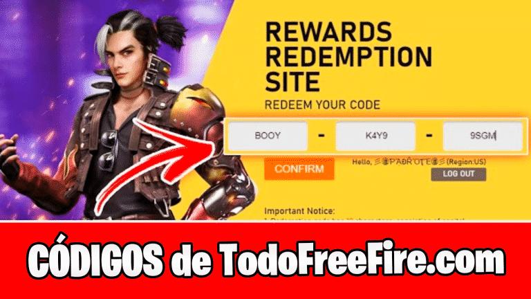 Codigos de Free Fire Todo Free Fire