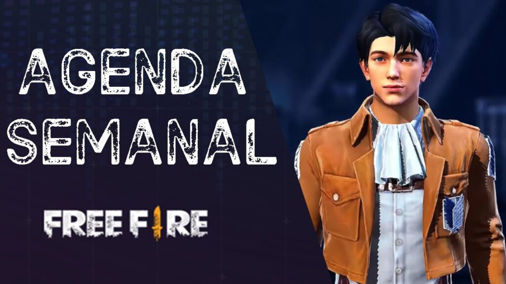 AGENDA SEMANAL FREE FIRE DEL 16 AL 20 DE SEPTIEMBRE