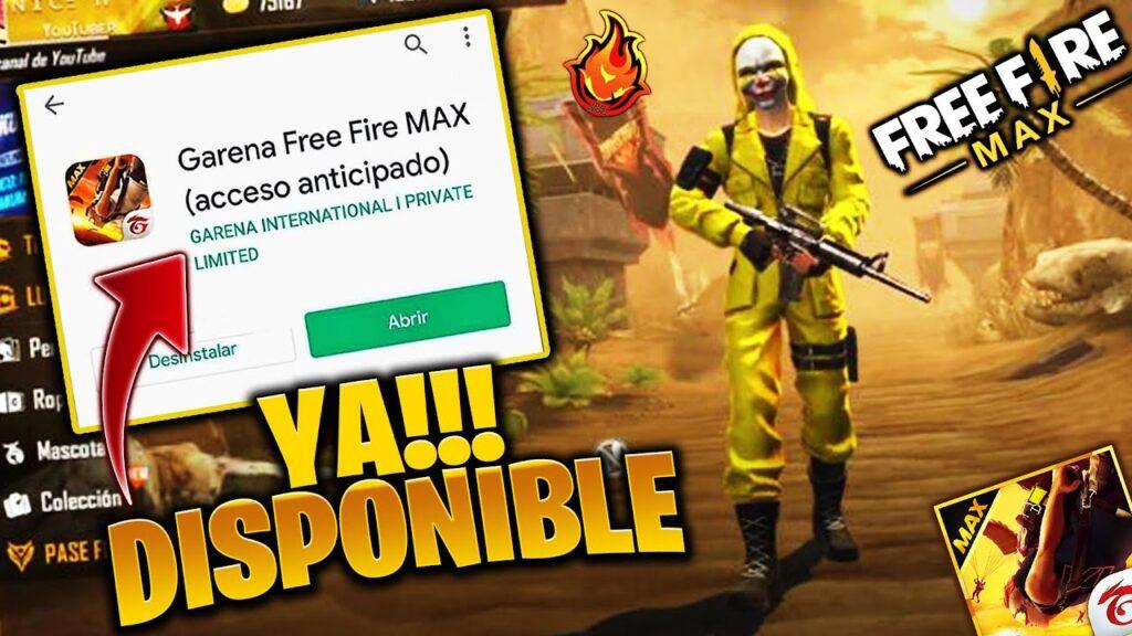 LANZAMIENTO MUNDIAL DE FREE FIRE MAX
